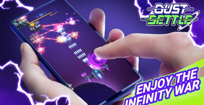 DUST SETTLE 3D INFINITY SPACE SHOOTING ARCADE GAME APK