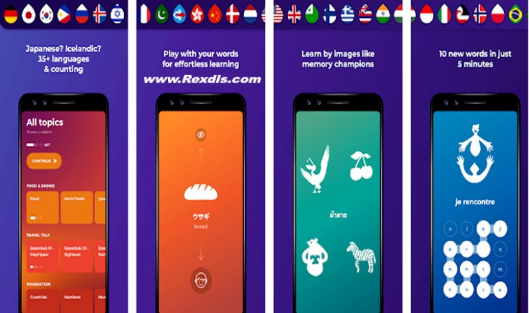 Drops Language Learning – learn Japanese and More Mod Apk