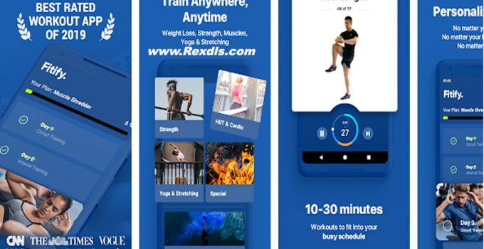 Fitify Workout Routines & Training Plans Mod Apk